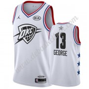 Oklahoma City Thunder Basketball Trikots 2019 Paul George 13# Weiß All Star Game Swingman..