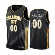 Oklahoma City Thunder Basketball Trikots NBA 2019-20 Schwarz City Edition Swingman..