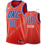 Oklahoma City Thunder Basketball Trikots NBA 2019-20 Orange Statement Edition Swingman