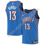 Oklahoma City Thunder Basketball Trikots NBA 2019-20 Paul George 13# Blau Icon Edition Swingman..