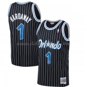 Orlando Magic Mens 1994-95 Penny Hardaway 1# Black Hardwood Classics Swingman..