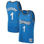Orlando Magic Mens 1994-95 Penny Hardaway 1# Blue Hardwood Classics Swingman..