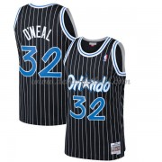 Orlando Magic Mens 1994-95 Shaquille O'Neal 32# Black Hardwood Classics Swingman..