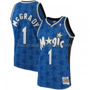 Orlando Magic Mens 2001-02 Tracy McGrady 1# Blue Hardwood Classics Swingman..