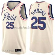 Basketball Trikot Kinder Philadelphia 76ers 2018 Ben Simmons 25# City Swingman..