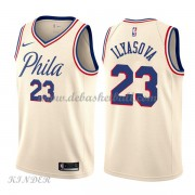 Basketball Trikot Kinder Philadelphia 76ers 2018 Ersan Ilyasova 23# City Swingman..