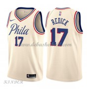 Basketball Trikot Kinder Philadelphia 76ers 2018 J.J. Redick 17# City Swingman..