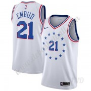 Basketball Trikot Kinder Philadelphia 76ers 2019-20 Joel Embiid 21# Earned Edition Swingman..