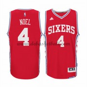 Philadelphia 76ers Basketball Trikots 2015-16 Nerlens Noel 4# Alternate Trikot Swingman..