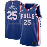 Philadelphia 76ers Basketball Trikots 2018 Ben Simmons 25# Road Trikot Swingman..