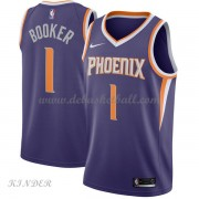 Basketball Trikot Kinder Phoenix Suns 2018 Devin Booker 1# Road Swingman..