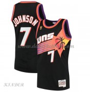 Basketball Trikot Kinder Phoenix Suns Kids 1996-97 Kevin Johnson 7# Black Hardwood Classics Swingman..