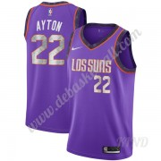 Basketball Trikot Kinder Phoenix Suns 2019-20 DeAndre Ayton 22# Lila City Edition Swingman..