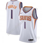 Basketball Trikot Kinder Phoenix Suns 2019-20 Devin Booker 1# Weiß Association Edition Swingman..
