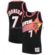 Phoenix Suns Mens 1996-97 Kevin Johnson 7# Black Hardwood Classics Swingman..
