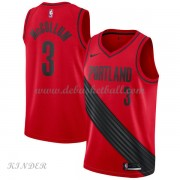 Basketball Trikot Kinder Portland Trail Blazers 2018 C.J. McCollum 3# Alternate Swingman..