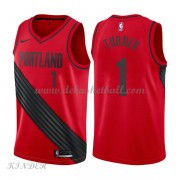 Basketball Trikot Kinder Portland Trail Blazers 2018 Evan Turner 1# Alternate Swingman..