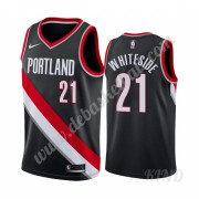 Basketball Trikot Kinder Portland Trail Blazers 2019-20 Hassan Whiteside 21# Schwarz Icon Edition Sw..