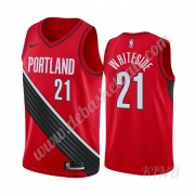 Basketball Trikot Kinder Portland Trail Blazers 2019-20 Hassan Whiteside 21# Rot Statement Edition S..