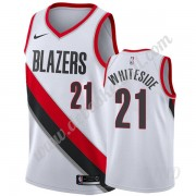 Basketball Trikot Kinder Portland Trail Blazers 2019-20 Hassan Whiteside 21# Weiß Association Editio..