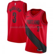 Portland Trail Blazers Basketball Trikots 2018 C.J. McCollum 3# Alternate Trikot Swingman..