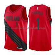 Portland Trail Blazers Basketball Trikots 2018 Evan Turner 1# Alternate Trikot Swingman..