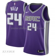 Basketball Trikot Kinder Sacramento Kings 2018 Buddy Hield 24# Road Swingman..