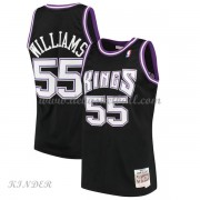 Basketball Trikot Kinder Sacramento Kings Kids 2000-01 Jason Williams 55# Black Hardwood Classics Sw..