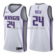 Sacramento Kings Basketball Trikots 2018 Buddy Hield 24# Home Trikot Swingman..