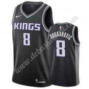 Sacramento Kings Basketball Trikots NBA 2019-20 Bogdan Bogdanovic 8# Schwarz Statement Edition Swing..