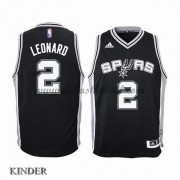 Basketball Trikot Kinder San Antonio Spurs 2015-16 Kawhi Leonard 2# Road Swingman..