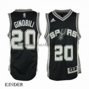Basketball Trikot Kinder San Antonio Spurs 2015-16 Manu Ginobili 20# Road Swingman..