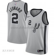Basketball Trikot Kinder San Antonio Spurs 2018 Kawhi Leonard 2# Alternate Swingman..