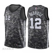 Basketball Trikot Kinder San Antonio Spurs 2018 LaMarcus Aldridge 12# City Swingman..