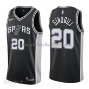 Basketball Trikot Kinder San Antonio Spurs 2018 Manu Ginobili 20# Road Swingman..