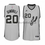 San Antonio Spurs Basketball Trikots 2015-16 Manu Ginobili 20# Alternate Trikot Swingman..