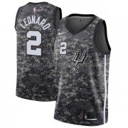 San Antonio Spurs Basketball Trikots 2018 Kawhi Leonard 2# City Swingman..