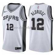San Antonio Spurs Basketball Trikots 2018 LaMarcus Aldridge 12# Home Trikot Swingman..