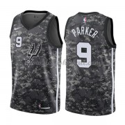 San Antonio Spurs Basketball Trikots 2018 Tony Parker 9# City Swingman..