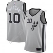 San Antonio Spurs Basketball Trikots NBA 2019-20 DeMar DeRozan 10# Grau Statement Edition Swingman..