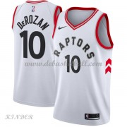 Basketball Trikot Kinder Toronto Raptors 2018 DeMar DeRozan 10# Home Swingman..