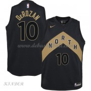 Basketball Trikot Kinder Toronto Raptors 2018 DeMar DeRozan 10# City Swingman..
