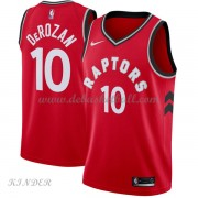 Basketball Trikot Kinder Toronto Raptors 2018 DeMar DeRozan 10# Road Swingman..