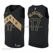 Basketball Trikot Kinder Toronto Raptors 2018 Jonas Valanciunas 17# City Swingman..