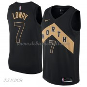 Basketball Trikot Kinder Toronto Raptors 2018 Kyle Lowry 7# City Swingman..