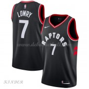 Basketball Trikot Kinder Toronto Raptors 2018 Kyle Lowry 7# Alternate Swingman..