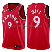 Basketball Trikot Kinder Toronto Raptors 2018 Serge Ibaka 9# Road Swingman..