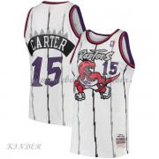 Basketball Trikot Kinder Toronto Raptors Kids 1997-98 Vince Carter 15# White Hardwood Classics Swing..