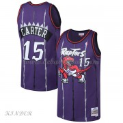 Basketball Trikot Kinder Toronto Raptors Kids 1998-99 Vince Carter 15# Purple Hardwood Classics Swin..
