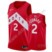 Basketball Trikot Kinder Toronto Raptors 2019-20 Kawhi Leonard 2# Rot Earned Edition Swingman..